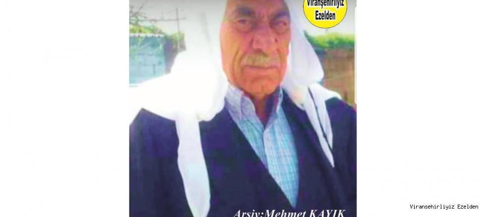 Hemşehrimiz Viranşehir'de Yakın zamanda Vefat etmiş, Kanaat Önderi, Merhum Hacı Osman Topçu