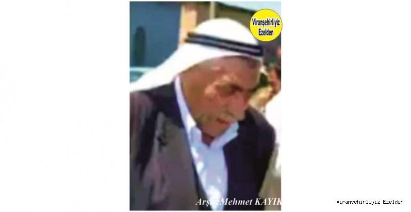 Hemşehrimiz Viranşehir'de Yakın zamanda vefat etmiş,Sevilen İnsan Merhum Hacı Osman Topçu