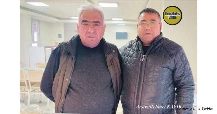 Hemşehrimiz Viranşehir'de Yemek Sektöründe Yıllarca Esnaflık yapmış, Cuma Çelikten ve Kadircan Seyrek(Abdurrahman Seyrek)