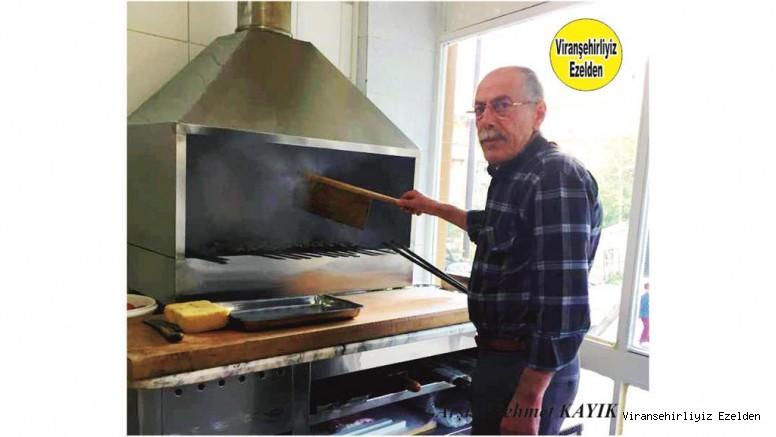 Hemşehrimiz Viranşehir'de Yetişmiş En Usta Kebabpçılarımızdan, Aziz Usta olarak tanınan Kebapçı Aziz Uzun