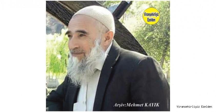 Hemşehrimiz Viranşehir'de Yıllarca Manifaturacılık Sektöründe Esnaflık yapmış, Merhum Hacı Ahmet Kapan