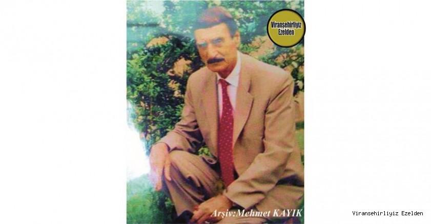 Hemşehrimiz Viranşehir'de Yıllarca Berberlik Sektöründe Esnaflık yapmış, Berber Hıdır olarak tanınan Merhum Hıdır İnanç