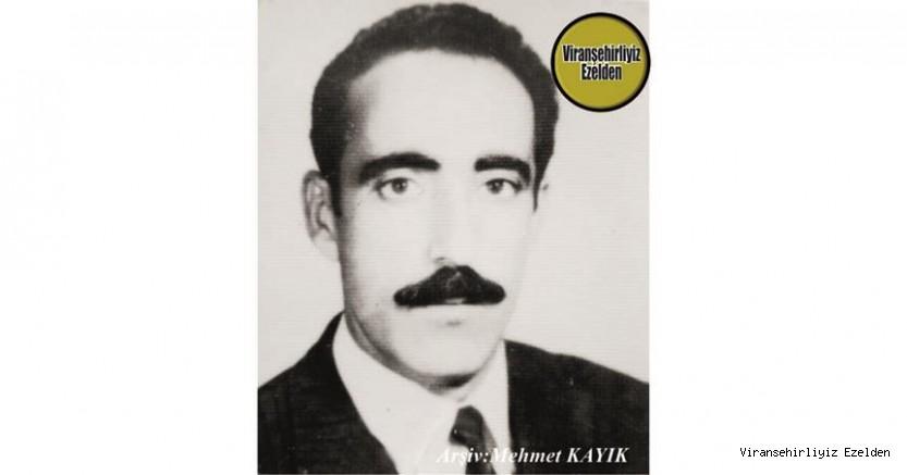 Hemşehrimiz Viranşehir'de Yıllarca Çiftçilik yapmış, Değerli İnsan Merhum Nevzat Turgut