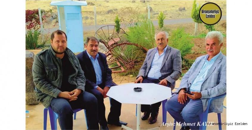Hemşehrimiz Viranşehir'de Yıllarca Çiftçilik yapmış, Sevilen, İnsan Hasan Çelikli, Vedat Yüksel, Bahri Toru ve Akrabası