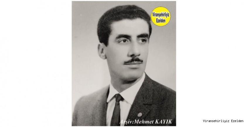 Hemşehrimiz Viranşehir'de Yıllarca Çiftçilik yapmış, Sevilen İnsan  Merhum Ali Nihat Ayaz