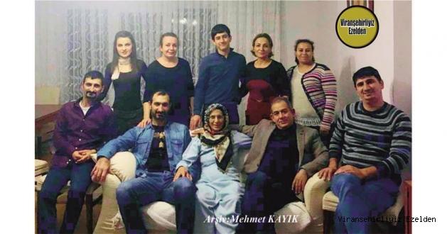 Hemşehrimiz Viranşehir'de Yıllarca Eczalık yapmış, şimdi İstanbul'da Mesleğini Sürdüren Ecz. Nihat Uluğtürken, Kardeşi Bülent Uluğtürken ve Diğer Aile Fertleri