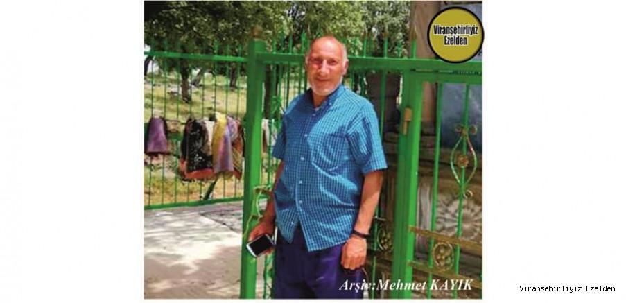 Hemşehrimiz Viranşehir'de Yıllarca Emeği ile Hayatını kazanmış, Sevilen Sinan Cengiz