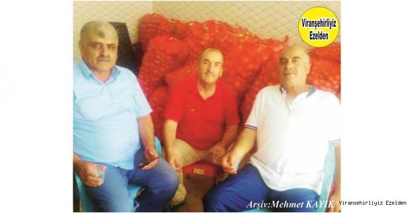 Hemşehrimiz Viranşehir'de Yıllarca Esnaflık yapmış, Ali Takanak,  Hüseyin Bilici ve Mehmet Yorulmaz