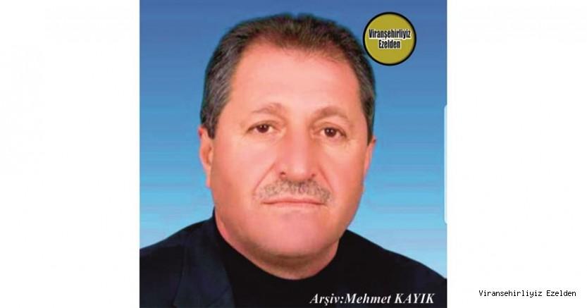 Hemşehrimiz Viranşehir'de Yıllarca Esnaflık yapmış, Sevilen İnsan Merhum Süleyman Yüksel