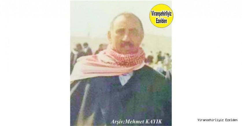 Hemşehrimiz Viranşehir'de Yıllarca Kanaat Önderliği yapmış, Sevilen İnsan Merhum Abdulkadir İper(Kadê Azzo)