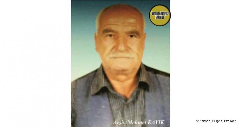 Hemşehrimiz Viranşehir'de Yıllarca Nalbantlık Sektöründe Esnaflık yapmış, Nalbant Murat olarak tanınan Merhum Murat Özaslan