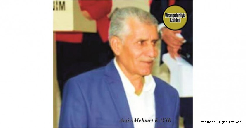 Hemşehrimiz Viranşehir'de Yıllarca Okul Müdürlüğü yapmış, Sevilen,  İyi İnsan Öğretmen Merhum İsa Sabah