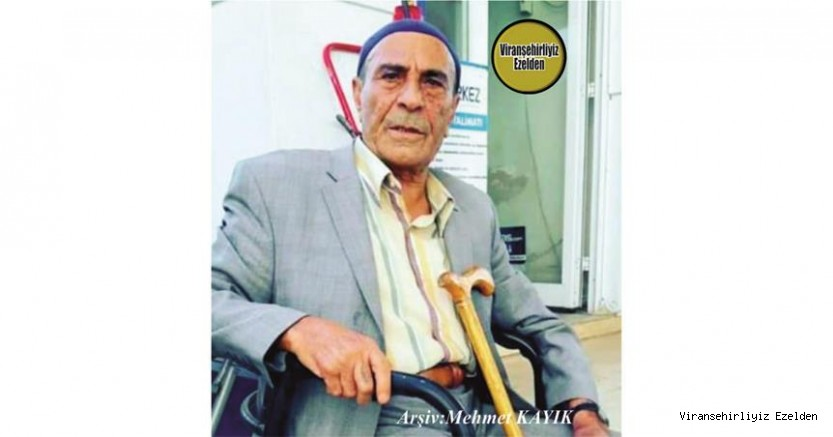 Hemşehrimiz Viranşehir'de Yıllarca Sağlık Sektöründe Hizmetlerde Bulunmuş, Sevilen İnsan Merhum Halim Karakuş