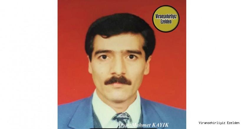 Hemşehrimiz Viranşehir'de Yıllarca Terzilik Sektöründe Usta Esnaflık yapmış, Sevilen İnsan Merhum Şeyhmus Başkan