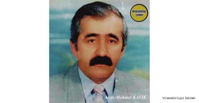 Hemşehrimiz Viranşehir'de Yıllarca (TMO)Toprak Mahsülleri Ofisinde görev yapmış, Merhum Seyfettin Sevük