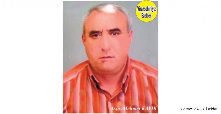 Hemşehrimiz Viranşehir'de Yıllarca Yemek Sektöründe Esnaflık yapmış, Sevilen İnsan Merhum Mustafa Durdu(Şeyh Baba)