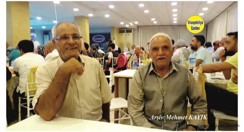 Hemşehrimiz Viranşehir'de Yıllardan Beridir Esnaflık yapmış, İbrahim Halil Gezgör ve Nedim Gezgör