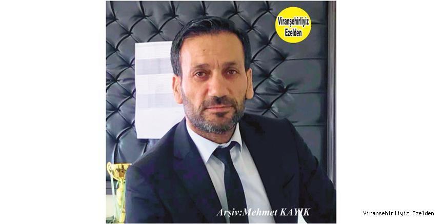 Hemşehrimiz Viranşehir'de Yıllardan Beridir Öğretmen Yönetici olarak Görev yapan Müdür Enver Naci Yolcu