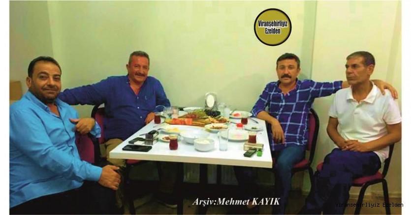 Hemşehrimiz Viranşehir'e Misafir olarak gelen Eyyüp Karakurt, Sinan Turan, Tahsin İper ve Mahmut Ekinci