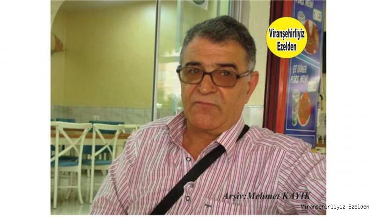 Hemşehrimiz Viranşehir Eski Urfa Caddesinde Yıllarca Kundura Sektöründe Esnaflık yapmış, Atilla Belkıran
