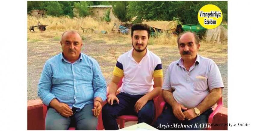 Hemşehrimiz Viranşehir Germen Köyünde Birayara Gelen Amca oğulları Kerim Özkan, Haşim Özkan ve Aslan Özkan