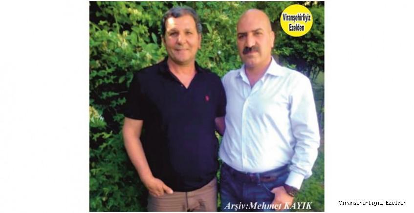 Hemşehrimiz Viranşehir İlçe Tarım Müdürlüğü Personellerinden, Vahit Yıldız ve Hikmet Aydoğan