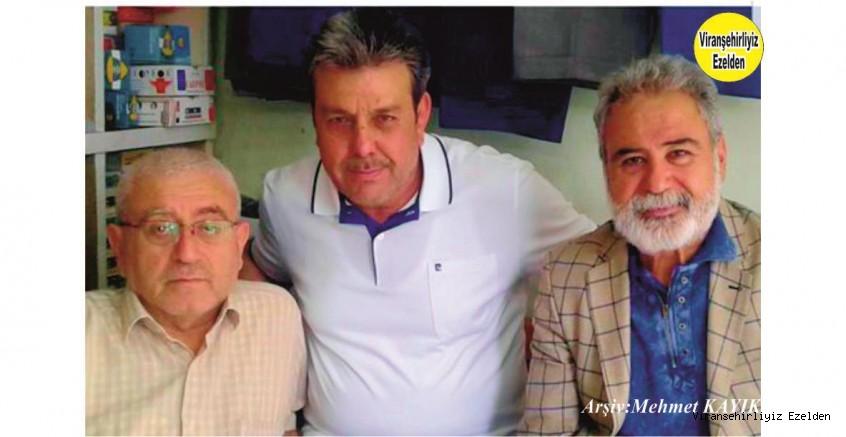 Hemşehrimiz Viranşehir İş Bankası Eski Personellerinden olan, Abdulkadir Tepret, Mehmet Sıraç Akçan ve Eski Muhtar Halil Yüksel