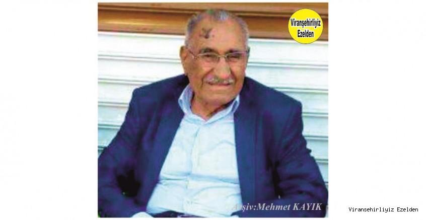 Hemşehrimiz Viranşehir Kaymakamlığı Eski Yazı İşleri Müdürü Değerli İyi İnsan Sinan Büyükturan