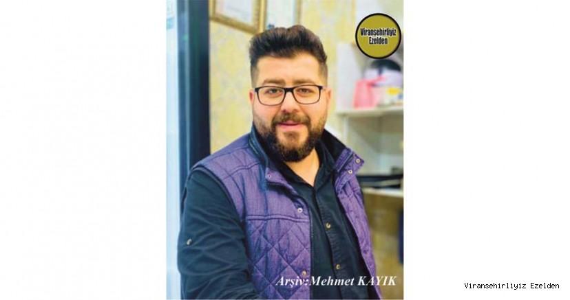 Hemşehrimiz Viranşehir Sanayi Sitesinde Yıllarca Esnaflık yapmış, Genç Esnaflarımızdan Murat Takanak