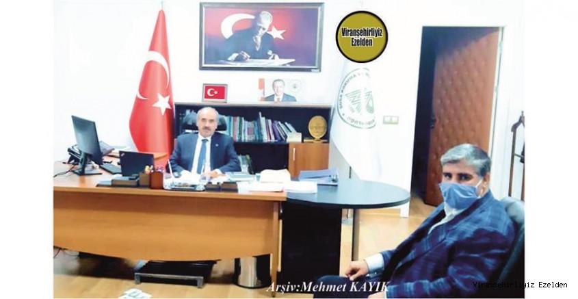 İzmir'de Danışmanlık Firması Bulunan Kenan Nebati, Tarım ve Orman Bakanlığı Doğa Koruma ve Milli Parklar Genel Müdürü İsmail Üzmez'I Makamında Ziyaret etti