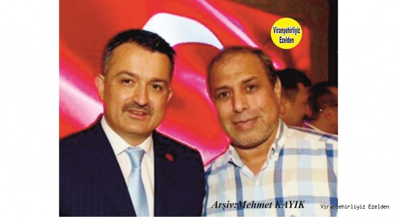 İzmir'de Yaşayan Başarılı Sanayici İş Adamlarımızdan Mustafa Yaşar ile Tarım ve Orman Bakanı Dr.Bekir Pakdemirli