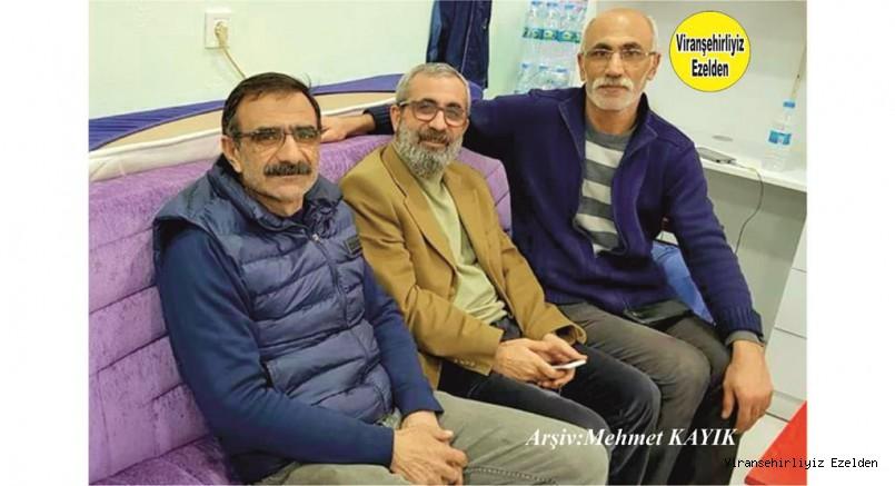 İzmir'de Yaşayan, Ekrem Koyuncu, Abdullah Güven ve Avukat Mahmut Vefa