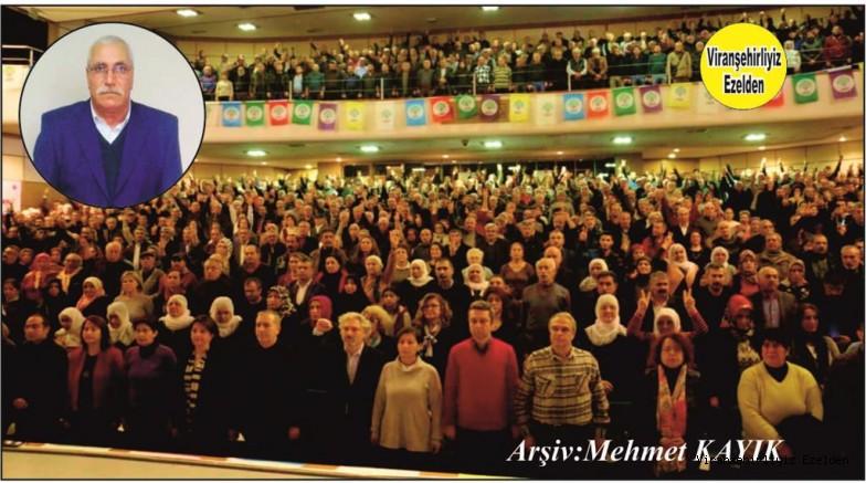 İzmir'de yaşayan, HDP İzmir 3. Olağan Kongresinde HDP İl Yönetim Kurulu Üyeliğine Seçilen Mustafa Koyuncu