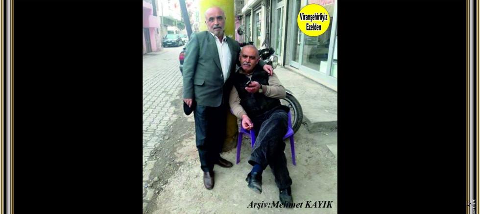 Mehmet Sıdık TATLI Xalo Lakabıyla Tanınan Ali DOĞAN'a
