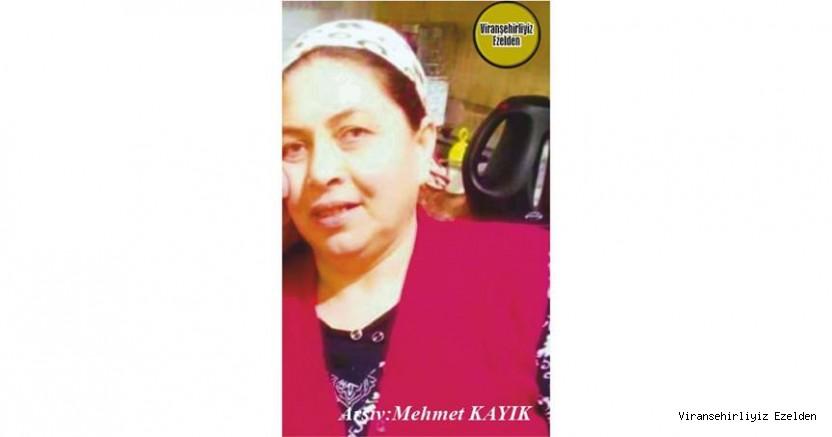 Mersin'de 24 Temmuz 2021 Günü Vefat etmiş, Değerli Annelerimizden olan, Merhume Ayşe Saban