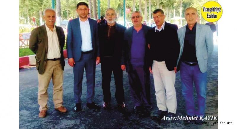 Mersin Viranşehirliler Derneği Başkanı Avukat Halil Kuran, Mehmet Bıçak, Eyyüp Kahraman, Arif Toptal, Ahmet Yılmazer ve Mahmut Turgut