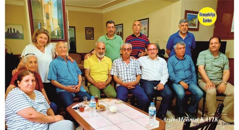 Mersin Viranşehirliler Derneğinde Eski Dostların Taziye Buluşması