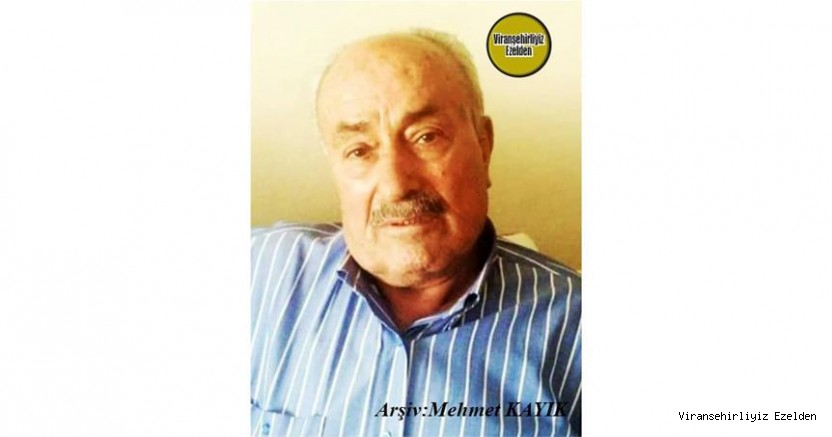 Ölüm Yıldönümü Olan 12 Eylül 2020 Günü Vefat etmiş, Hacı Fahri olarak tanınan, Sevilen Güzel İnsan Merhum Hacı Fahrettin Orman