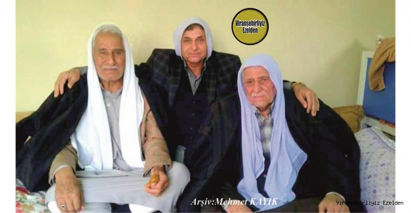 Sevilen Kanaat önderlerimizden olan, Merhum Hacı Gazi Erkan, Merhum Hacı Mustafa Kızıltaş ve Mehmet Kızıltaş
