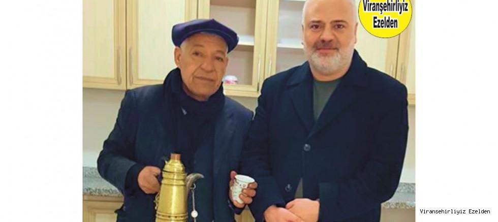 Türkiye Ekonomi Kulübü Genel Başkanı Mehmet Ulutaş ve Ünlü Mırracı(Acı Kahve) Karadayı(Ahmet Barik)
