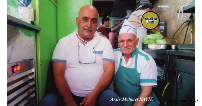 Uzun Yıllardır Lokanta Sektöründe Esnaflık yapmış, İstanbul'da yaşayan Şefik Kudin veMehmet Yavuzkaplan(Kuşçu Mehmet)