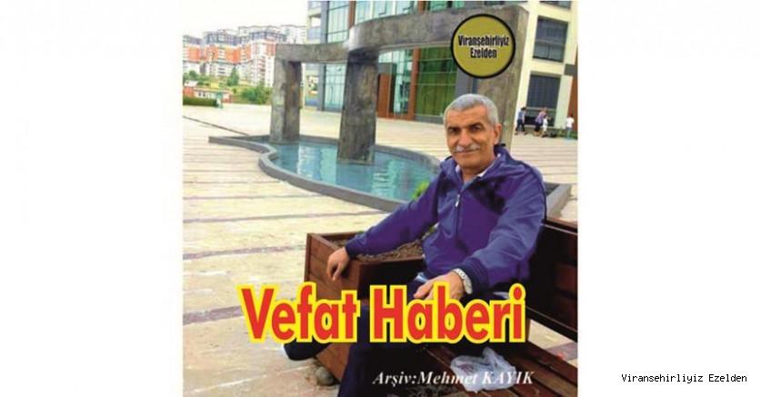 VEFAT HABERİ