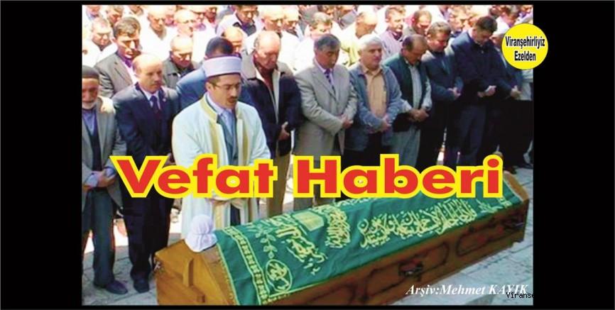 VEFAT HABERİDİR