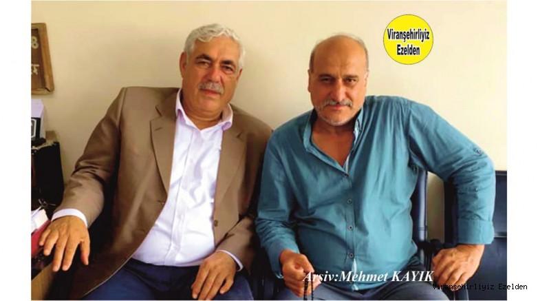 Viranşehir Aslan Otomotiv Oto Galeri Sahibi Sinan Yalav ve Turizm İşleri İle Uğraşan Suphi Topkan