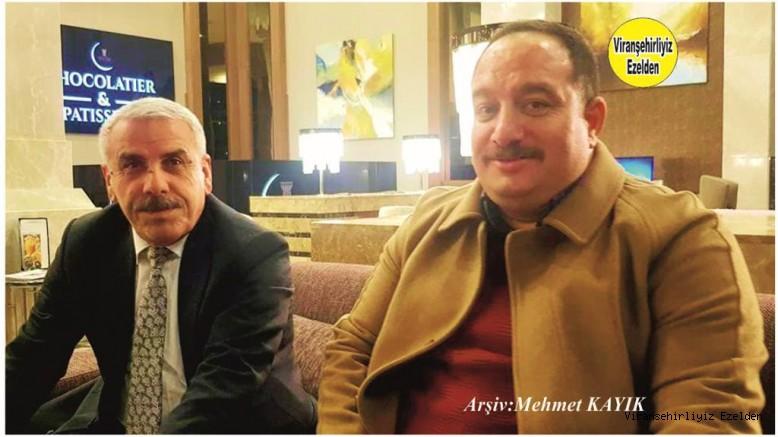 Viranşehir Belediye başkanı Salih Ekinci ve Emekli Memurlarımızdan olan Abdullatif Şehmusoğlu