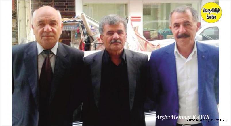 Viranşehir Belediyesi Emekli Memuru Maruf Yağan, İsmail(Semo) Yağan ve Halil(İnci Baba) Yağan