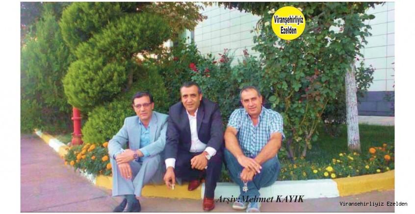 Viranşehir Belediyesi Eski Personellerinden, Hakkı Bozkurt, Müdür Mithat Kemal Alay ve Mehmet Nuri Olcan