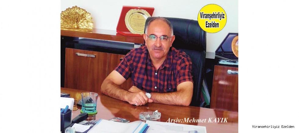 Viranşehir Belediyesi Eski Personellerinden, şimdi Şanlıurfa Büyükşehir Belediyesinde Tıbbi Atık Sorumlusu Sakıp Yeşilağaç