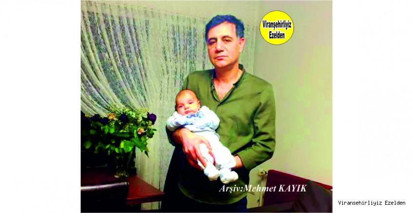 Viranşehir Belediyesi Eski Zabıta Müdürü Almanya'da yaşayan Hakkı Bozkurt ve Yeni Dünya'ya gelen Torunu Milan Bozkurt