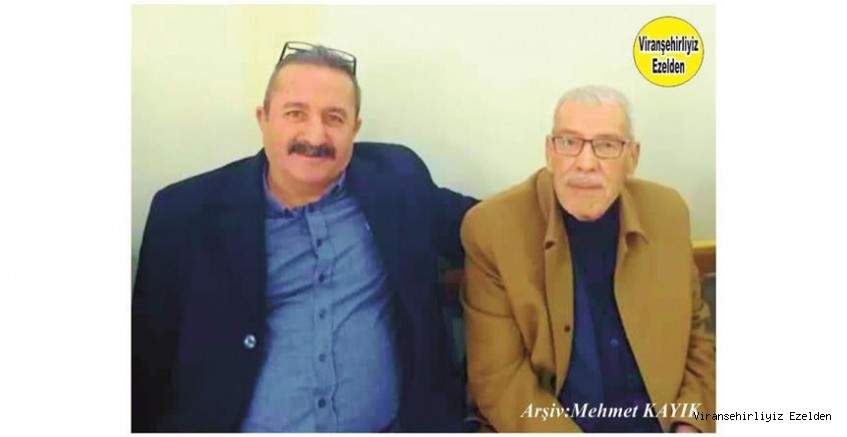 Viranşehir Belediyespor Futbol Kulübü Başkanı Mahmut Ekinci ve Merhum Hacı Menduh Şehmusoğlu